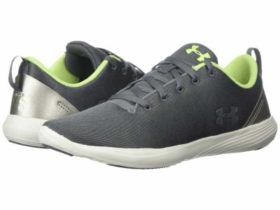 Under Armour - Under Armour Women's Graphite Ivory X-Ray UA Street Precision LO X NM Lifestyle Sneakers