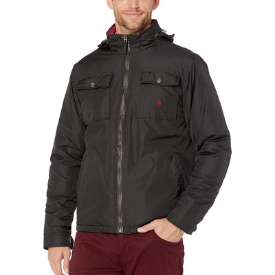 U.S. Polo Assn. - U.S. Polo Assn. Black Bi-Swing Jacket