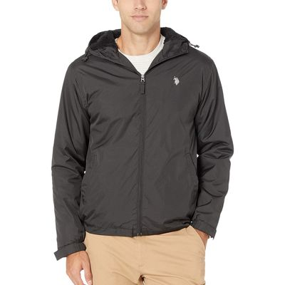 U.S. Polo Assn. - U.S. Polo Assn. Black Sherpa Lined Jacket