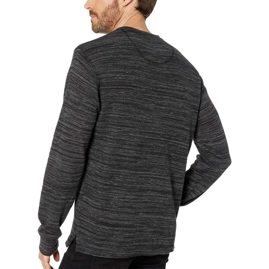 U.S. Polo Assn. Black Space Dye Thermal Henley