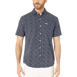 U.S. Polo Assn. Classic Navy Short Sleeve Circle Print - Thumbnail