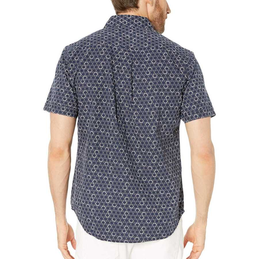 U.S. Polo Assn. Classic Navy Short Sleeve Circle Print