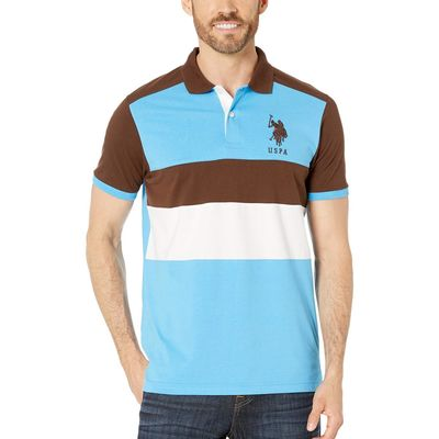 U.S. Polo Assn. - U.S. Polo Assn. Dark Stallion Chest Stripe Color Block