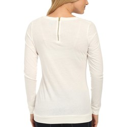 U.S. Polo Assn. Egret Sequin Yoke T-Shirt - Thumbnail