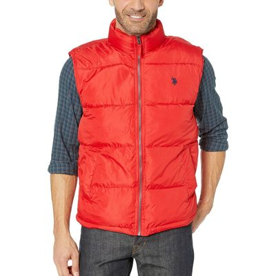 U.S. Polo Assn. - U.S. Polo Assn. Engine Red Signature Vest
