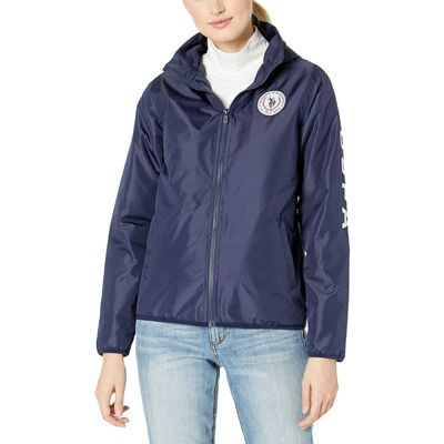 U.S. Polo Assn. - U.S. Polo Assn. Evening Blue Lined Windbreaker