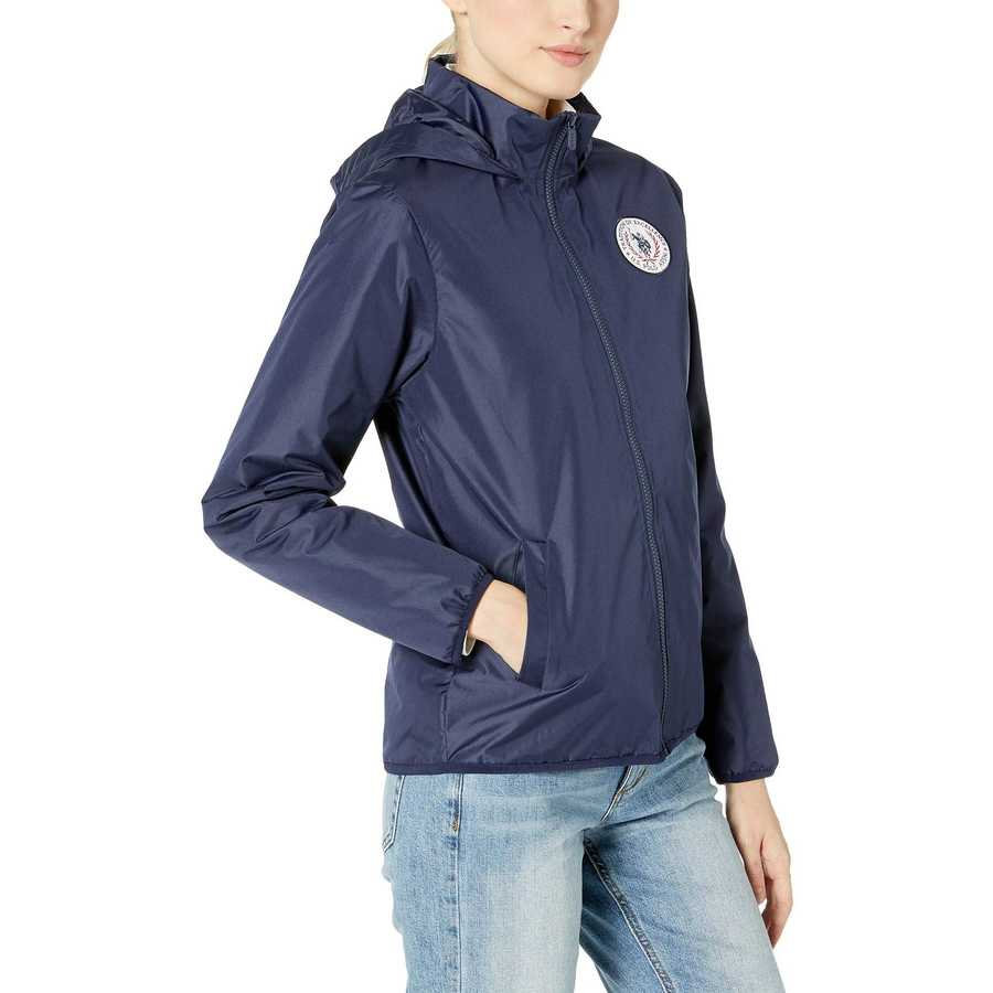 U.S. Polo Assn. Evening Blue Lined Windbreaker
