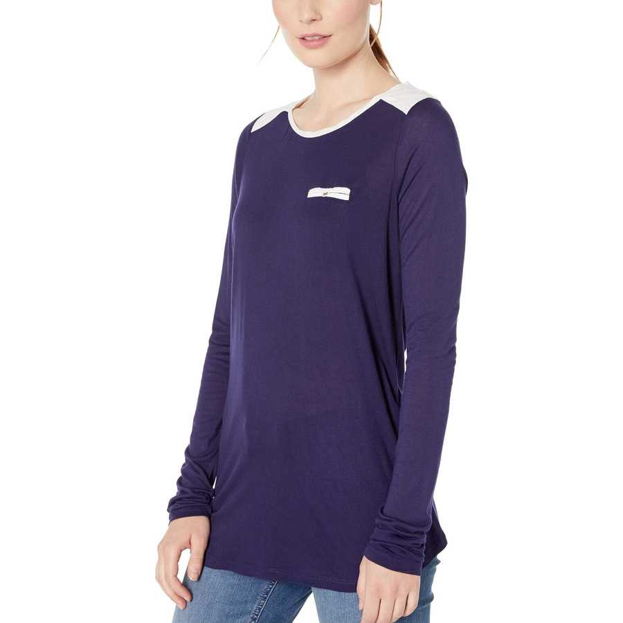 U.S. Polo Assn. Evening Blue Long Sleeve Pocket T-Shirt