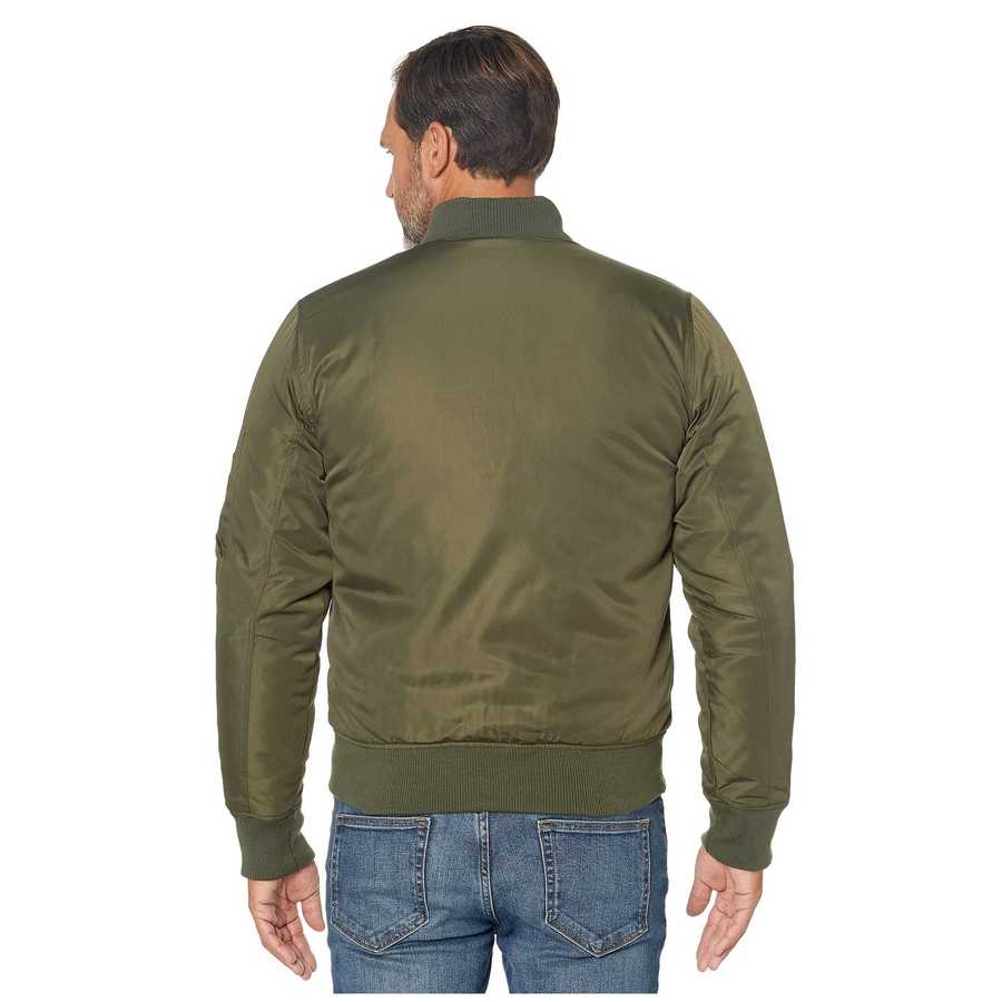 U.S. Polo Assn. Forest Green Bomber Jacket