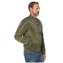 U.S. Polo Assn. Forest Green Bomber Jacket - Thumbnail