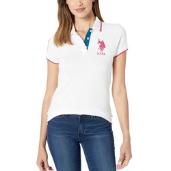 U.S. Polo Assn. Fresh White Triple Crown Polo - Thumbnail