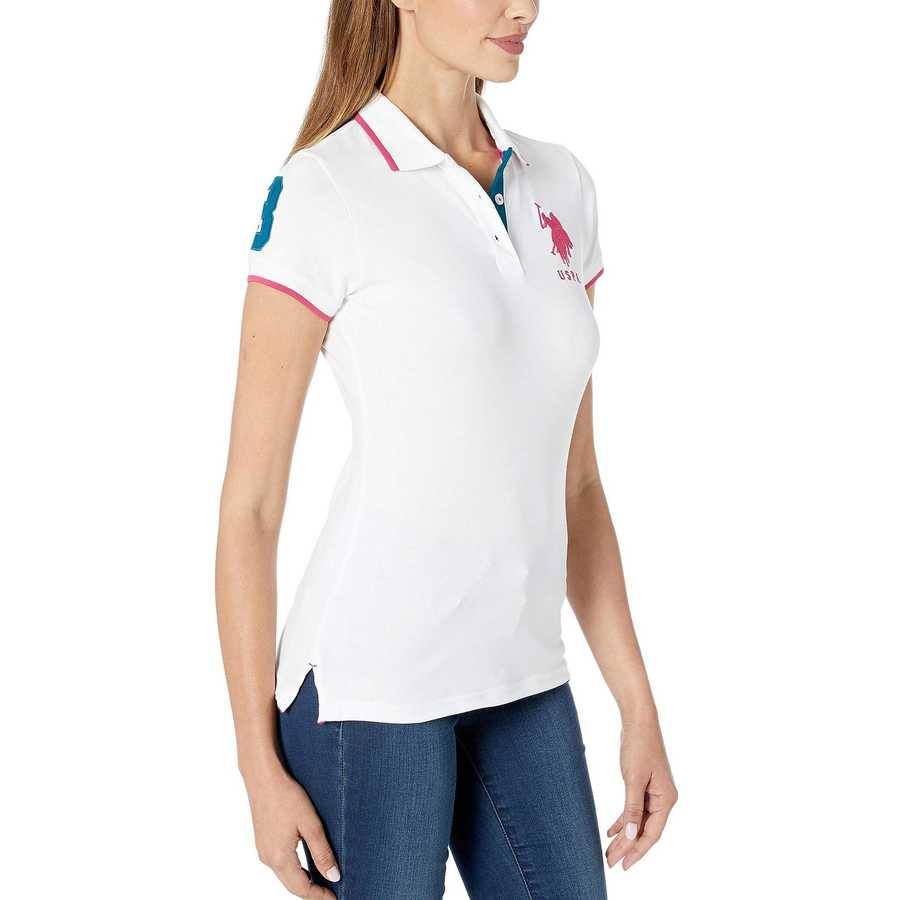 U.S. Polo Assn. Fresh White Triple Crown Polo