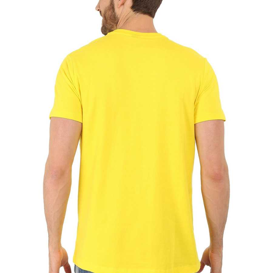 U.S. Polo Assn. Laser Yellow Crew Neck Small Pony T-Shirt