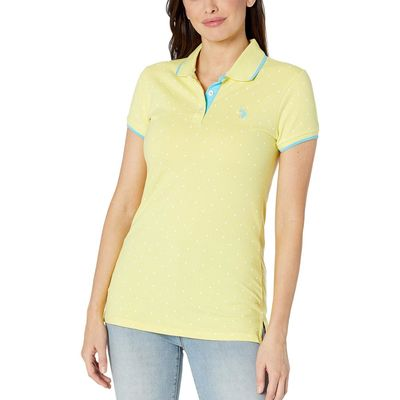 U.S. Polo Assn. - U.S. Polo Assn. Limelight Dot Print Polo Shirt