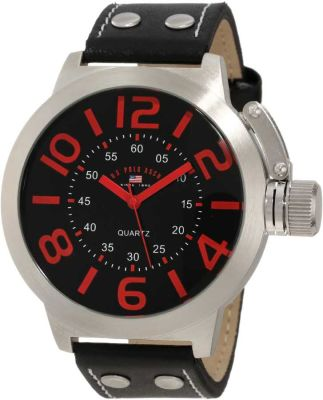 U.S. Polo Assn. - U.S. Polo Assn. Men's Analog Black Classic Watch US5205 US5205