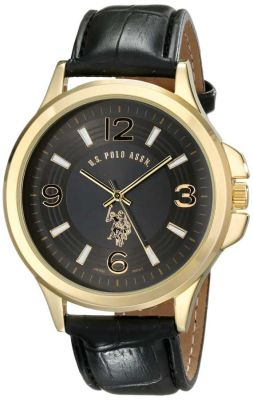 U.S. Polo Assn. - U.S. Polo Assn. Men's Analog Display Analog Quartz Two Toned Classic Watch USC80267 USC80267