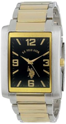 U.S. Polo Assn. - U.S. Polo Assn. Men's Analog Gun Metal Classic Watch USC80043GM USC80043GM