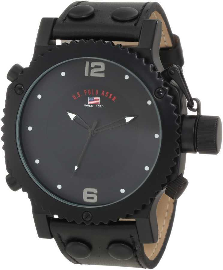 U.S. Polo Assn. Men's Black Analog Classic Watch US5211 US5211