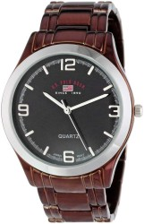 U.S. Polo Assn. Men's Brown Dial Spray Brown Plated Bracelet Classic Watch US8451 US8451 - Thumbnail