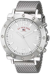 U.S. Polo Assn. Men's Quartz and Alloy Casual Silver Casual Watch US8815 US8815 - Thumbnail