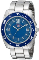 U.S. Polo Assn. Men's Quartz and Alloy Casual Silver Toned Casual Watch US8611 US8611 - Thumbnail
