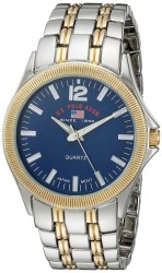 U.S. Polo Assn. Men's Quartz and Alloy Casual Toned Two Toned Casual Watch US8625 US8625 - Thumbnail