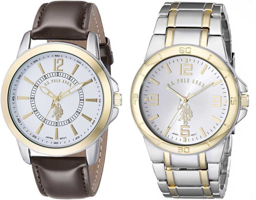 U.S. Polo Assn. Men's Set of Two Classic Watches USC2254 USC2254