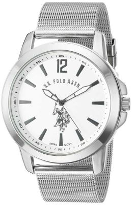 U.S. Polo Assn. - U.S. Polo Assn. Men's Two Toned Classic Watch with Link Bracelet USC80292 USC80292
