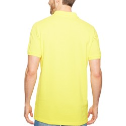 U.S. Polo Assn. Mid Day Yellow Solid Cotton Pique Polo With Small Pony - Thumbnail