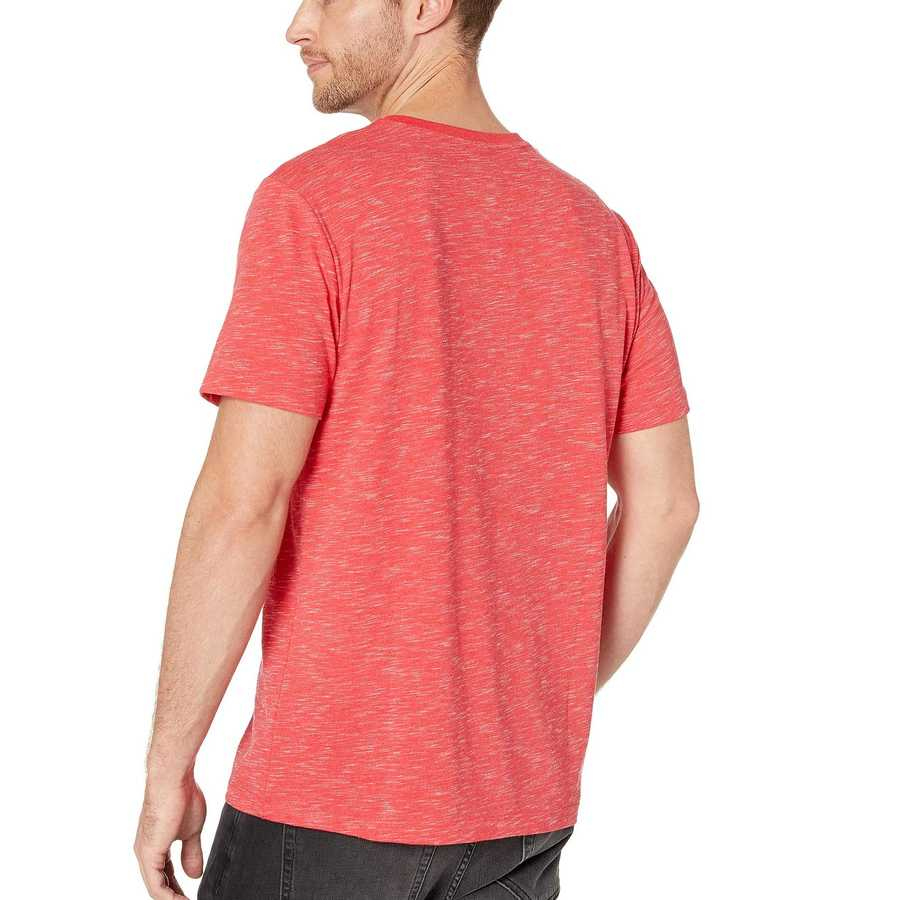 U.S. Polo Assn. Nantucket Red Heather Space Dyed V-Neck T-Shirt