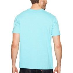 U.S. Polo Assn. Painters Aqua Crew Neck Small Pony T-Shirt - Thumbnail