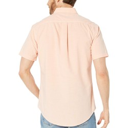 U.S. Polo Assn. Tiger Orange Short Sleeve Woven - Thumbnail