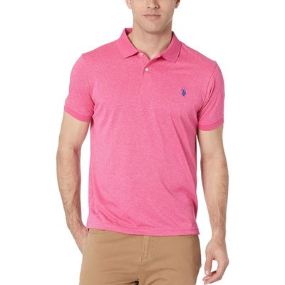 U.S. Polo Assn. - U.S. Polo Assn. Watermelon Beach Marled Poly Polo-41