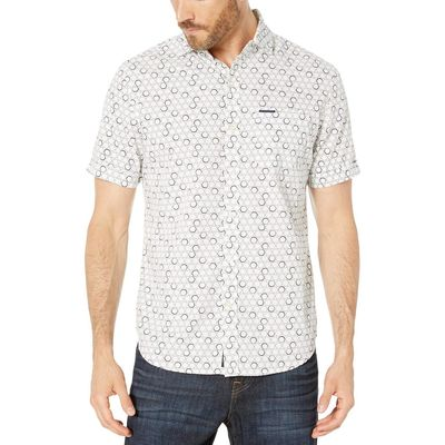 U.S. Polo Assn. - U.S. Polo Assn. White Short Sleeve Circle Print