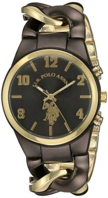 U.S. Polo Assn. - U.S. Polo Assn. Women's Analog Display Analog Quartz Two Tone Casual Watch USC40177 USC40177