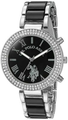 U.S. Polo Assn. - U.S. Polo Assn. Women's Black Dress Watch USC40085 USC40085
