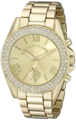 U.S. Polo Assn. - U.S. Polo Assn. Women's Gold Toned Casual Watch USC40036 USC40036