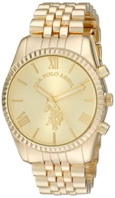 U.S. Polo Assn. - U.S. Polo Assn. Women's Gold Toned Casual Watch USC40058 USC40058
