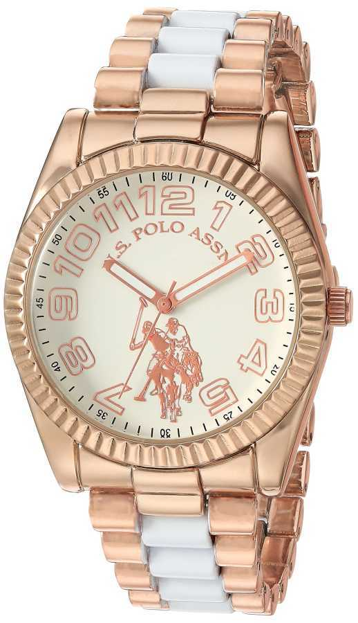 U.S. Polo Assn. Women's Quartz and Alloy Casual Tone Two Tone Casual Watch USC40125 USC40125