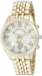 U.S. Polo Assn. Women's Quartz and Alloy Gold Toned Casual Watch USC40097 USC40097 - Thumbnail
