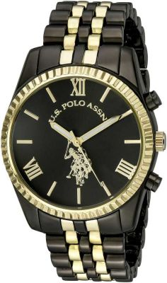 U.S. Polo Assn. - U.S. Polo Assn. Women's Two Tone Casual Watch USC40059 USC40059