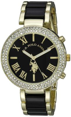 U.S. Polo Assn. - U.S. Polo Assn. Women's Two Tone Dress Watch USC40061 USC40061