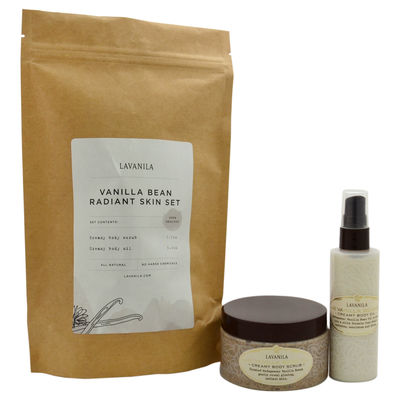 Lavanila - Vanilla Bean Radiant Skin Set 2Pc Set