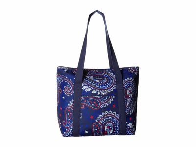 Vera Bradley - Vera Bradley Fireworks Paisley Lighten Up Cooler Tote Handbag