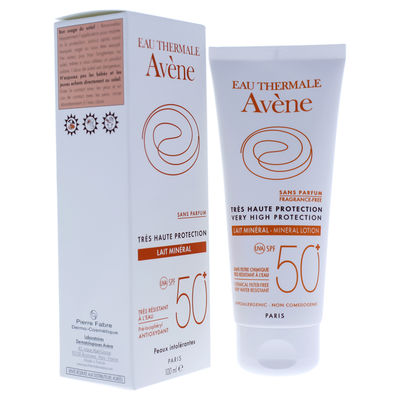 Avene - Very High Protection Mineral Lotion SPF 50 3,4oz