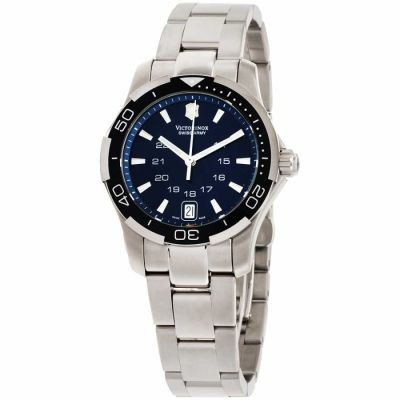 Victorinox - Victorinox Alliance Blue Dial Stainless Steel Ladies Watch 241307