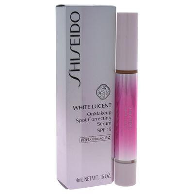 Shiseido - White Lucent OnMakeup Spot Correcting Serum SPF 15 - Medium 0,16oz