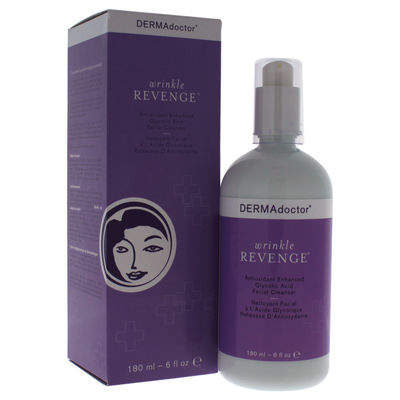 DERMAdoctor - Wrinkle Revenge Antioxidant Enhanced Glycolic Acid Facial Cleanser 6oz