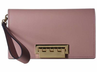 Zac Posen - Zac Zac Posen Burlwood Earthette Clutch Solid Clutch Bag