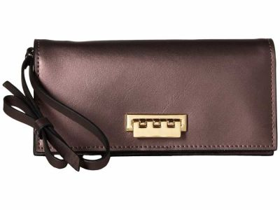 Zac Zac Posen - ZAC Zac Posen Gilded Fig Earthette Wristlet Checkbook Wallet